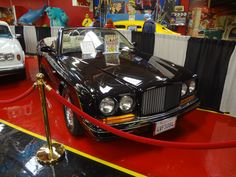 Oprah's Bentley can been seen in the new Exhibit building at the Volo Auto Museum, Volo, IL.   www.volocars.com