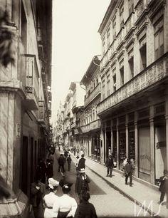 Centro do Rio de Janeiro. c. 1890. Rio de Janeiro