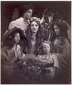 May Day, Julia Margaret Cameron, 1866.