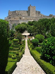 Marvão castle, Alentejo, Portugal.