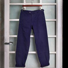 Wood Wood Eland Pants Patriot Blue