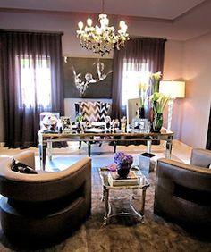 I LOVE Khloe Kardashian's Home Office