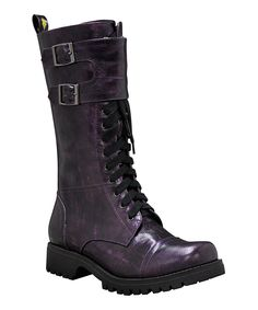 Look at this VOLATILE Purple Moonlight Boot on #zulily today!