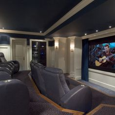 Cool Home Theatre Room