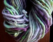 Handspun Mohair Wool Yarn by KnoxFarmFiber