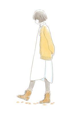 Kawaii Anime Girl, Anime Art Girl, Manga Art, Cartoon Kunst, Cartoon Drawings, Art And Illustration, Dibujos Cute, Korean Art, Image Manga
