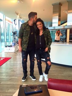 82f48a5ba7b0 Matching outfits for me and you!couple look idea.army look!love it