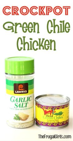 rockpot Green Chile Chicken Recipe! ~ from TheFrugalGirls.com {this Slow Cooker chicken is so yummy, SO easy to make, and perfect for Taco night!!} #slowcooker #recipes #thefrugalgirls