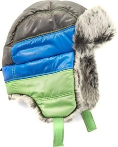 Color Block Aviator Hat - Toddler Boys