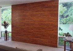 This video tutorial by Home Depot shows you how to use wood laminate flooring on the wall…