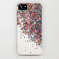 Fun II (NOT REAL GLITTER) iPhone & iPod Case