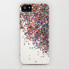 Fun II (NOT REAL GLITTER) iPhone & iPod Case
