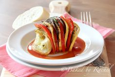 Ratatouille by bakedbyrachel as adapted from Julia Child #Ratatouille #bakedbyrachel #Julia_Child
