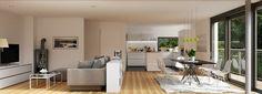 A la hora de decorar un loft o una vivienda diáfana vamos a echar mano de estos trucos decorativos para conseguir ambientes diferenciados. ¿Cuál os gusta más?
