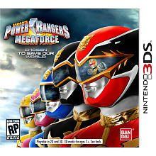 Power Rangers MegaForce for Nintendo 3DS