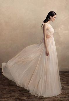Love this image. Papilio blush wedding dress
