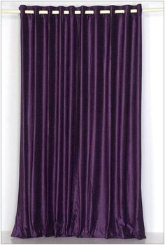 I Could See These Dark Purple Curtains In A Bedroom Or Movie Room To Block Out Sunlight
