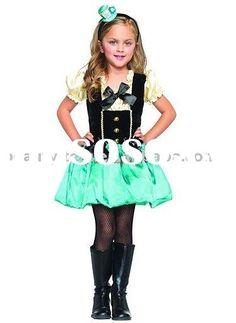 Halloween costume for kids( Modern girl)