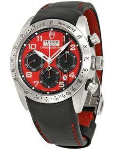 Tudor Fastrider Ducati Red Dial Chronograph 42000D