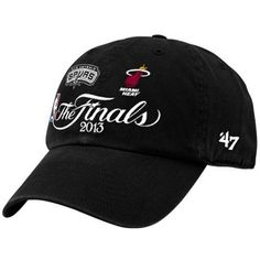 Miami Heat vs. San Antonio Spurs 2013 NBA Finals Dueling Adjustable Hat
