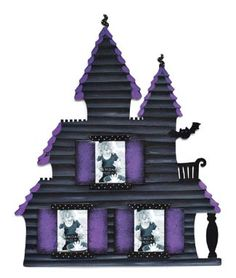 Haunted House photo magnet by Embellish Your Story