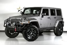 grey billet wranglers customized | 2012 Jeep Wrangler Unlimited Sport
