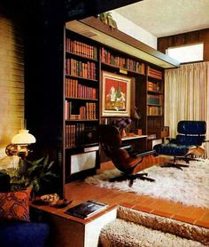 Beautiful study. cosy. perfect for reading.