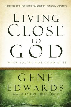 Living Close to God . . . When You're Not Good at It , $10.99 (http://www.seedsowers.com/products/living-close-to-god-when-youre-not-good-at-it.html)  Practical advice for those of us who are spiritually handicapped.