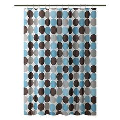 Bath Bliss Circles Shower Curtain