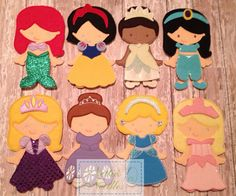 Complete Princess Set by NettiesNeedlesToo on Etsy, $120.00