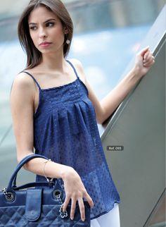 Blusa Chifon Cristal, #Blusa, #Chifonazul, #Bluzacristal.