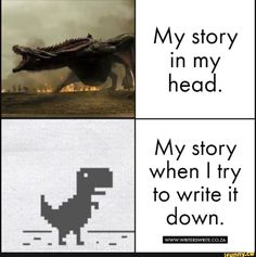 writers life, humor, memes for writers Really Funny Memes, Stupid Funny Memes, Funny Relatable Memes, Haha Funny, Hilarious, It Memes, Friend Memes, True Memes, Funny Facts