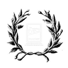 laurel wreath by ~hivesotto on deviantART