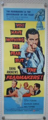 Dana Andrews in The Fearmakers, original '58 insert http://www.timelessmoviemagic.co.uk/the-fearmakers-insert-movie-poster-dana-andrews-marilee-earle-rolled-58-1654-p.asp