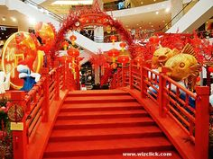 Shopping Mall lunar New Year Decoration 2015 - Tìm với Google