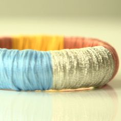 DIY: Update a Bracelet With Colorful Thread!