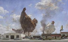 From ARCADIA CONTEMPORARY, John Brosio, The State Of The Union (2012), Oil On Canvas, 41 × 66 in