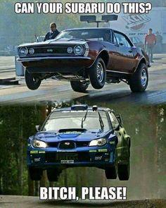 Just Subaru Things Truck Memes, Car Humor, Subaru Cars, Jdm Cars, Funny Car Quotes, Funny Cars, Ford Jokes, Dodge Memes, Pt Cruiser