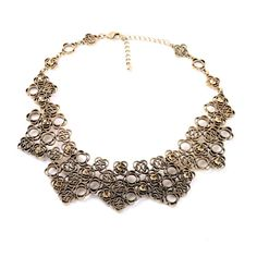 Occident alloy Drill set necklace  NHQD1504