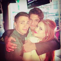 Teen Wolf's Colton Haynes, Tyler Posey, and Holand Roden