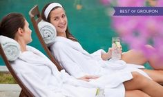 Groupon - Spa Afternoon Tea with Treatment and Bubbly for One or Two at River Wellbeing Spa at the Rafayel Hotel (Up to 45% Off) in London. Groupon deal price: £79