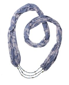 Loving Truth Scarf Necklace  -helps one to speak their truth always in a loving, compassionate manner    (15% off with code FEBLOVE)