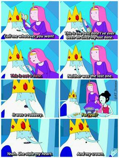 Marceline and Bonnibel #AdventureTime