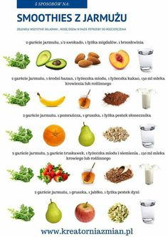 18 new Pins for your bon appétit board - WP Poczta Healthy Smoothies, Healthy Drinks, Smoothie Recipes, Diet Recipes, Healthy Recipes, Healthy Diet Tips, Clean Eating Snacks, Healthy Eating, The Fresh