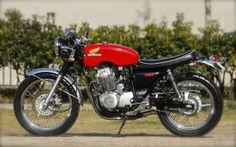 Honda CB400SS - Hakuto Hataeda - Inazuma Cafe Racer