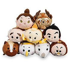 Beauty and the Beast Mini ''Tsum Tsum'' Plush Collection | Disney Store Stackably soft, our <i>Beauty and the Beast</i> Mini ''Tsum Tsum'' Plush assortment will be a Belle-ringer for your Collection!