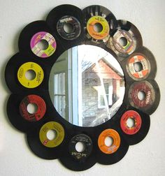 specchio vinile