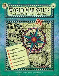 World History Map Program. World Map Skills  Grade 6 School Specialty Publishing 9780880129350 Amazon com MAPPING WORLD HISTORY PROGRAM A hands on program that links world