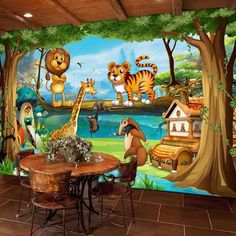 Cheap photo wallpaper, Buy Quality wallpaper world directly from China world wallpaper Suppliers: Wall Murals Beautiful Cartoon Forest Animal World Photo Wallpaper For Children Room Papier Peint Enfant Eco-Friendly Frescoes 3d Wallpaper Cars, 3d Wallpaper Cartoon, Wallpaper Doodle, 3d Wallpaper Mural, Gothic Wallpaper, World Wallpaper, 3d Wall Murals, Scenery Wallpaper, Photo Wallpaper