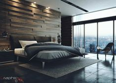 Make your mid-century bedroom a reality today with the best interior design ideas. - Best Home Decorating Ideas - Easy Interior Design and Decor Tips Modern Bedroom Decor, Master Bedroom Design, Home Bedroom, Bedroom Ideas, Bedroom Designs, Modern Mens Bedroom, Modern Luxury Bedroom, Budget Bedroom, Scandinavian Bedroom
